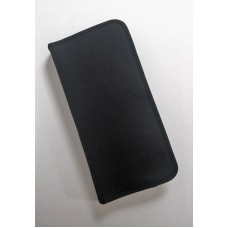 Large Black Nylon Fabric Brush Case